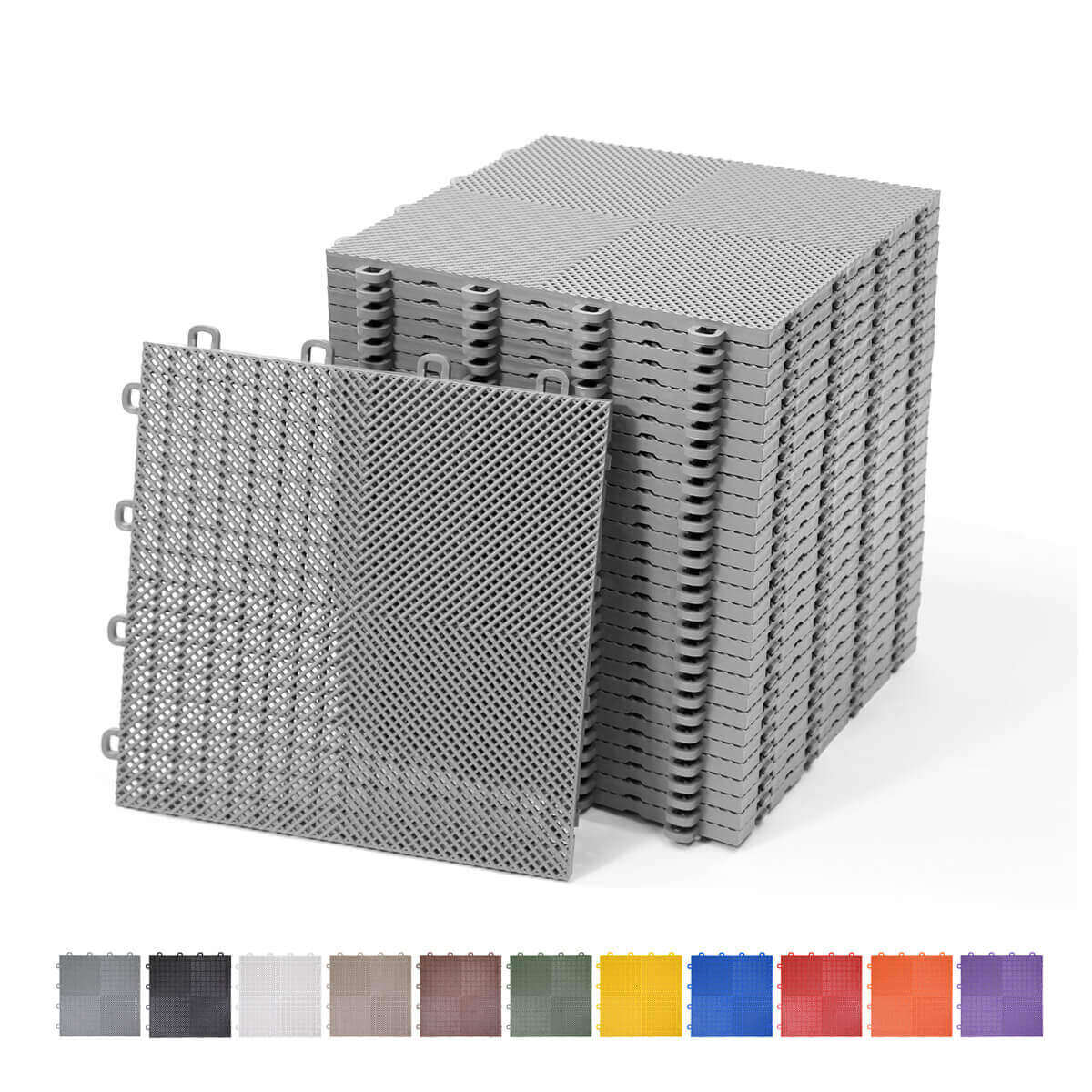 Perforated Interlocking Floor Tiles Blocktile