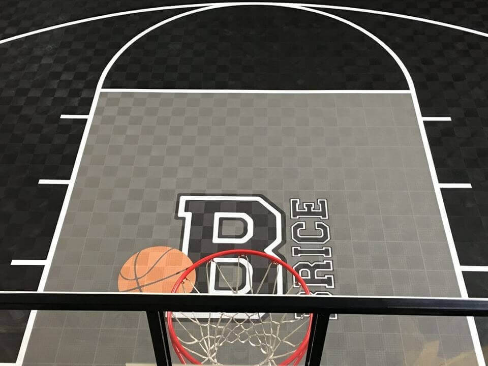 Backyard Basketball Court Ideas Picture Gallery From Blocktile